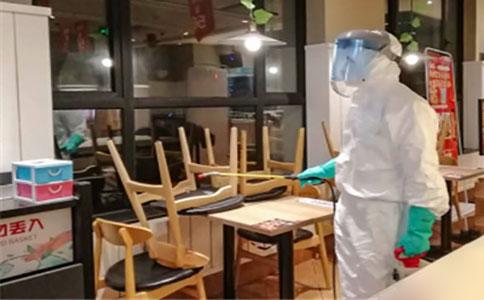 广州餐饮场所消毒公司