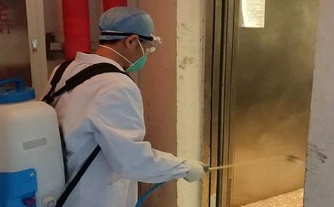 广州白云区罗冲围超市环境消毒